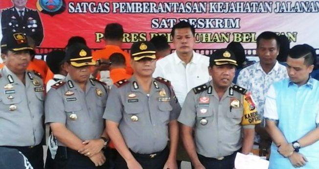 Dalam Waktu Seminggu, Polres Pelabuhan Belawan Berhasil Ungkap Kasus Kejahatan Jalanan