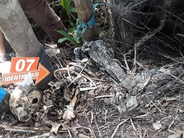 Lagi Cari Ijuk, Tambunan Temukan Tengkorak Manusia di Kebun Belakang SPBG Batunadua, Padangsidempuan