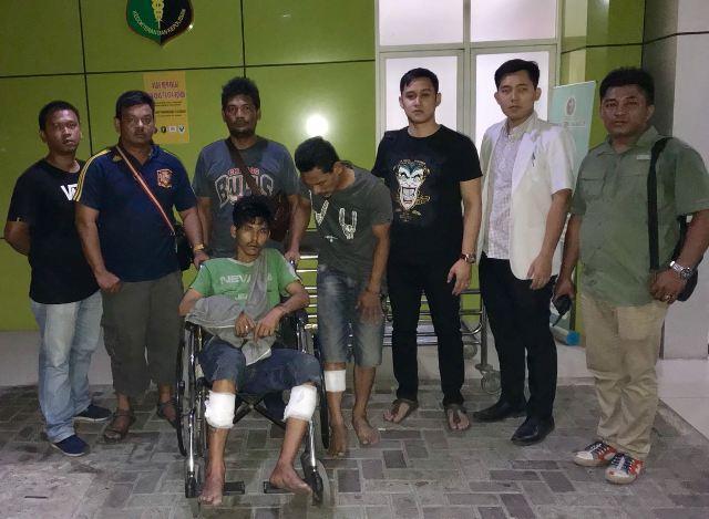 Jambret Sari Nazara di Jalan Gatsu, Dua Pelaku Ditembak Personel Polsek Medan Baru