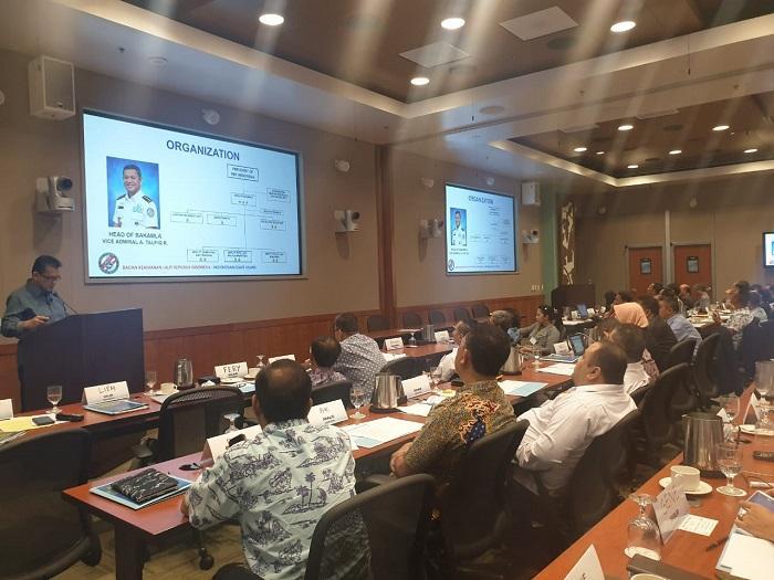 Maritime Share Awareness V di Hawaii 2019, Bukti Pengakuan Internasional terhadap Bakamla RI