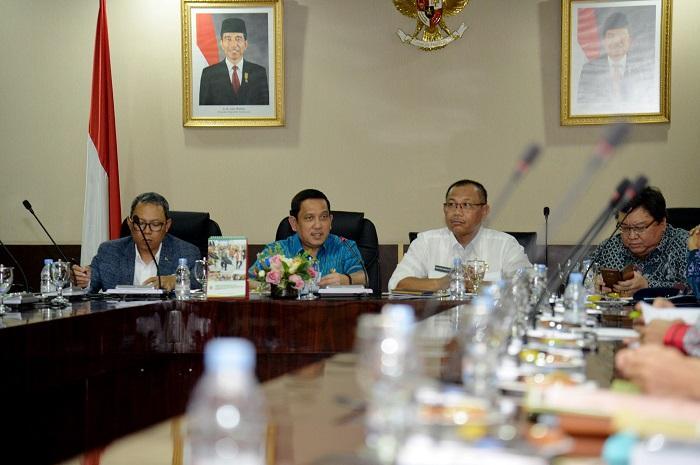 BAP DPD RI Puji Kemajuan Laporan Keuangan Sumut