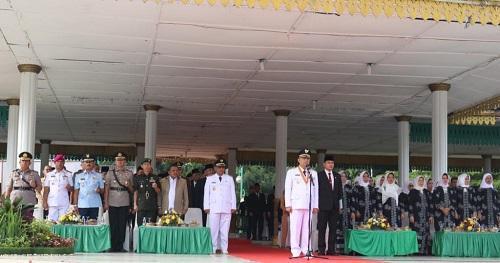 Pimpin Upacara HUT ke 429 Kota Medan, Walikota: Medan Rumah Kita