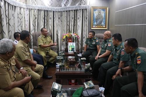 Terima Kunjungan Siswa KKLDN Perwira Seskoad, Ini Harapan Walikota Medan