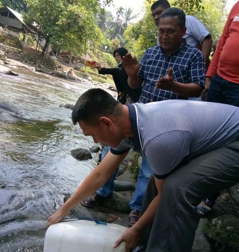 Hari Sungai Nasional, Kapolrestabes Medan Tanam Pohon dan Tebar Benih Ikan
