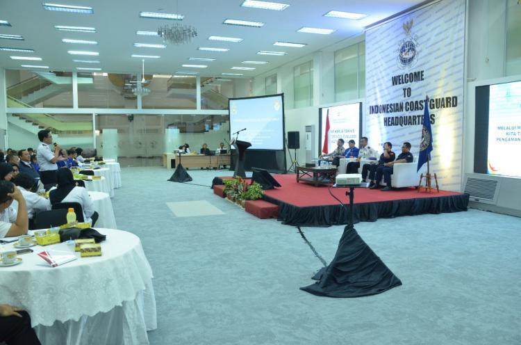 Bakamla RI/IDNCG Evaluasi Strategi Kamla