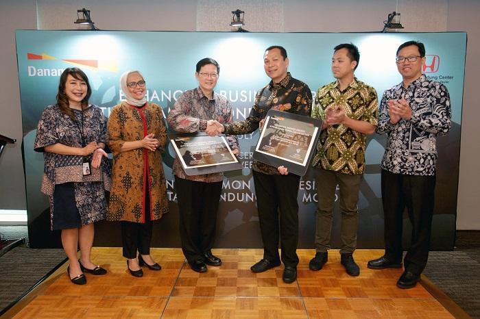 Danamon Dukung Dealer Honda IBRM Siapkan Layanan Financial Supply Chain