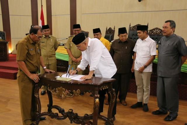 Ranperda Atas Pencabutan Perda Tentang Retribusi Izin Gangguan, Disetujui Pemko dan DPRD Kota Medan