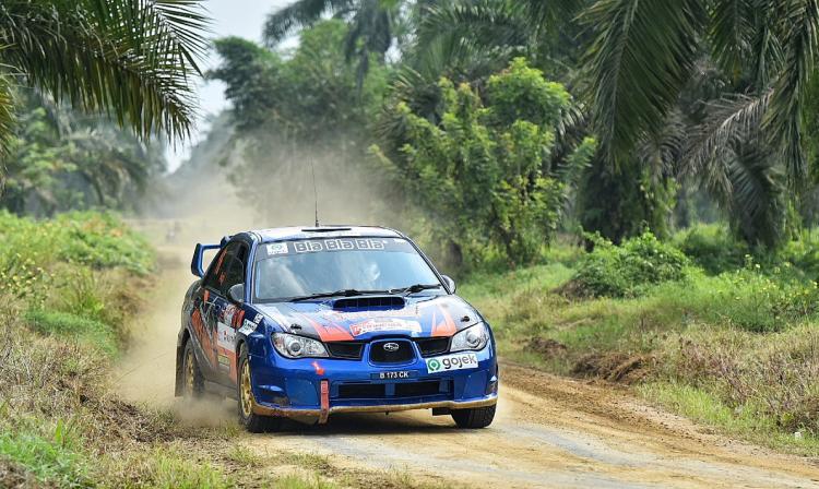 Walau Gearbox 1 dan 2 Patah, Wagub Musa Rajekshah Catatkan Waktu Apik di APRC Indonesia 2019
