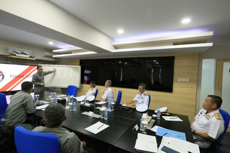 Royal Thai Navy Kunjungi Mabes Bakamla RI