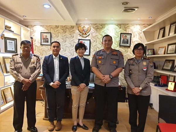 Konsulat Jepang Lakukan Kunjungan ke Mapolsek Medan Baru