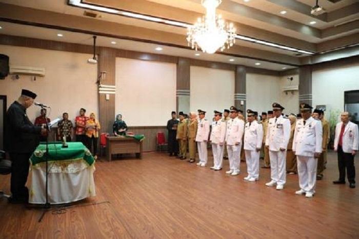 33 Pejabat Eselon II dan Eselon III Dilantik Walikota Medan