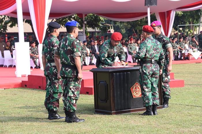 Panglima TNI Resmikan Satuan Koopssus TNI