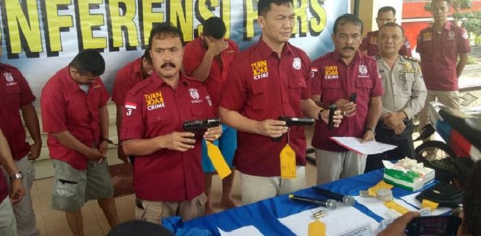 Poldasu Tangkap Komplotan Perampok Mengaku Anggota Polri yang Beraksi di Kampung Kolam