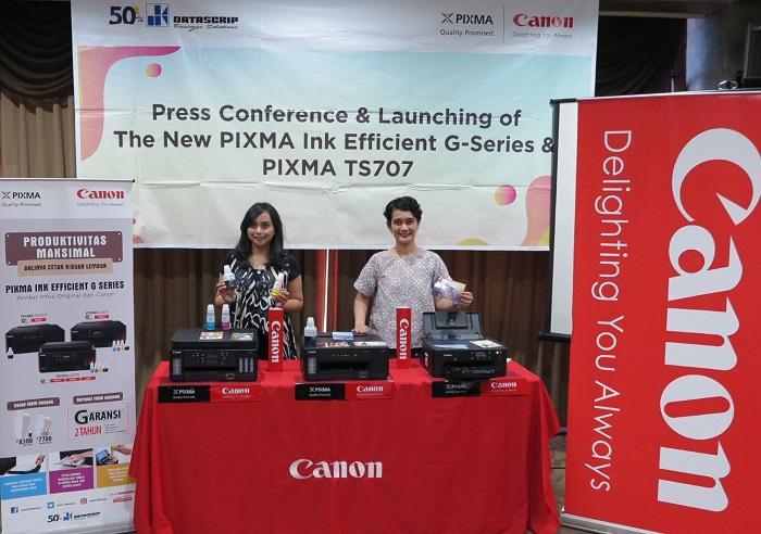 Canon Luncurkan Printer PIXMA Ink Efficient G-Series Terbaru, Bisa Cetak Banyak, Murah dan Berkualitas