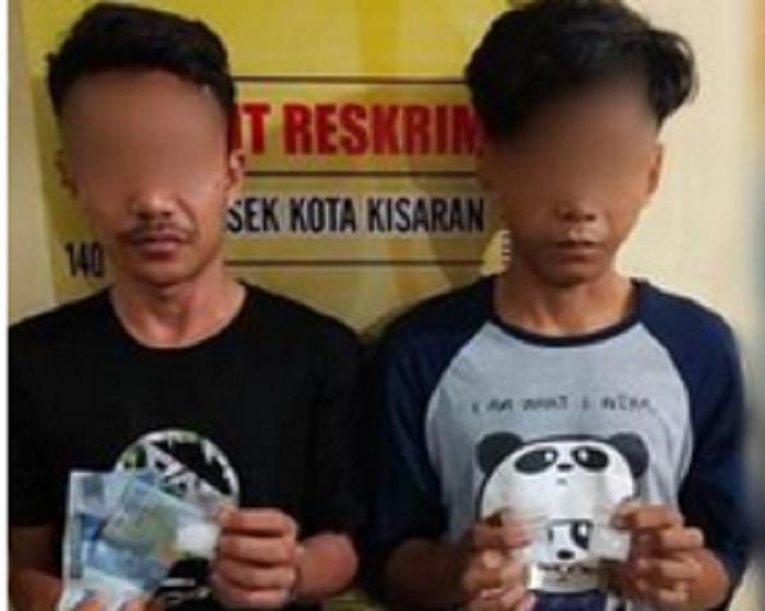 Dua Bandar Sabu Asal Kisaran Ditangkap Polisi