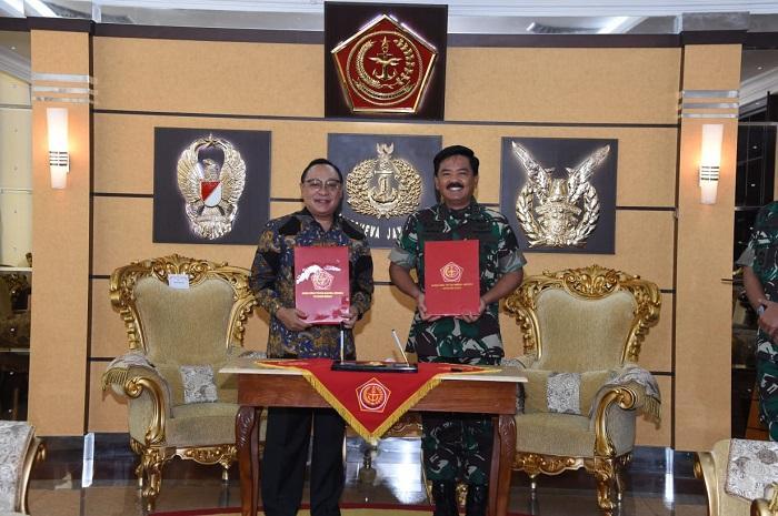 TNI Kerja Sama Dengan PT Bank Tabungan Negara