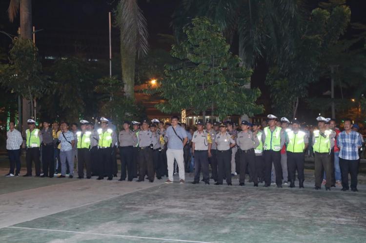 Kapolrestabes Medan Pimpin Apel Akal Besar Antisipasi Gangguan Kamtibmas