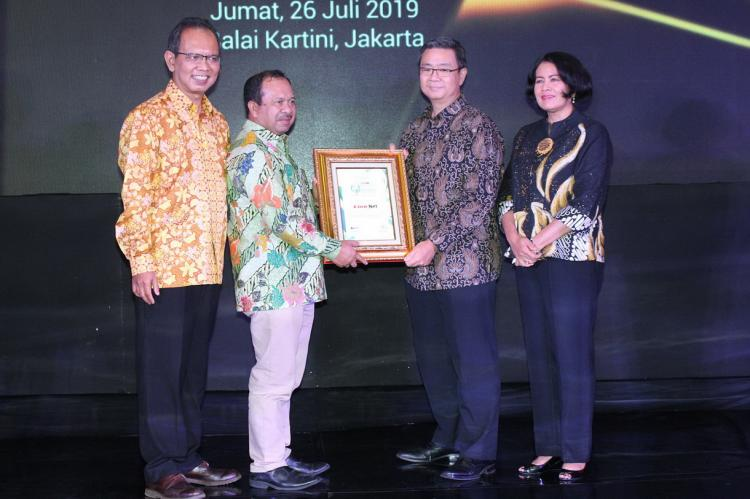 PT Link Net Tbk Raih Predikat Indonesia Most Innovative Business Award 2019 Kategori ISP