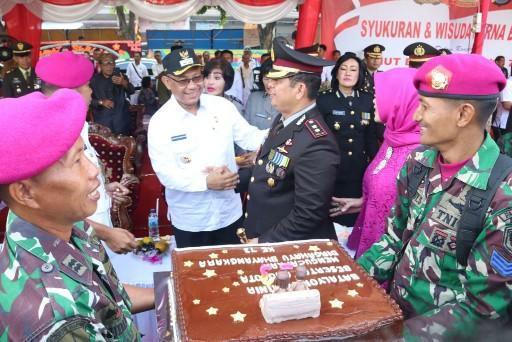 Walikota Hadiri Upacara HUT Ke 73 Bhayangkara