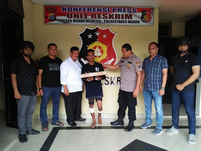 Pelaku Pembobol Gedung Zaitun Toba Permai Ditangkap Polisi di Helvetia
