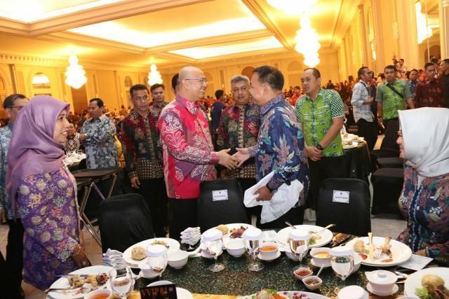 Walikota Medan Hadiri Welcome Dinner Rakernas XIV APEKSI