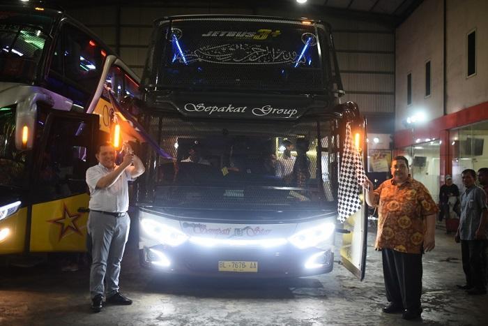 Ramah Lingkungan, Volvo B11 R Meluncur di Medan