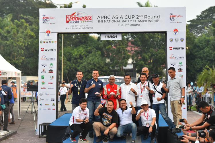 APRC Indonesia 2019 Sukses, Musa Rajekshah Berharap Sumut Bisa Jadi Tuan Rumah Event Lebih Besar