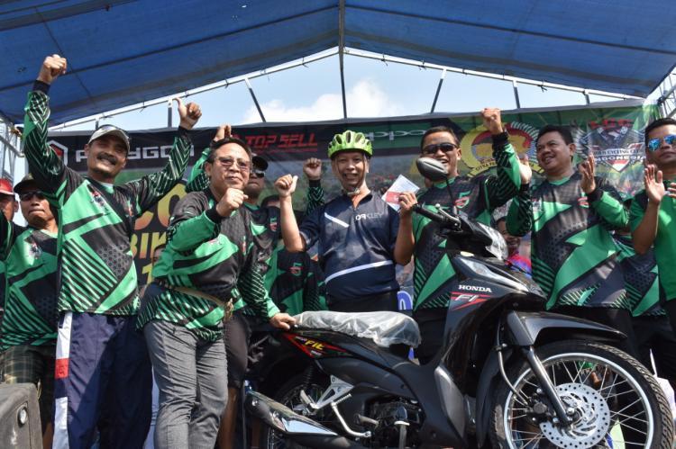 HUT Komunitas Fun Bike, Danrem 082 CPYJ Sediakan Hadiah 1 Unit Motor