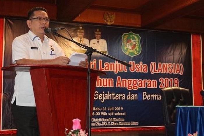 Ratusan Lansia Ikuti Berbagai Lomba dan Seminar dari Pemko Medan