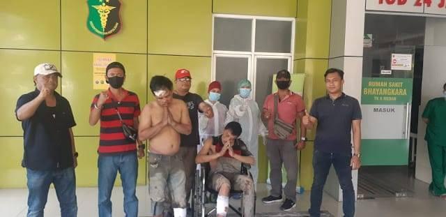 Melawan, Dua Pelaku Pencuri Mobil di Pancur Batu Ditembak Polsek Sunggal