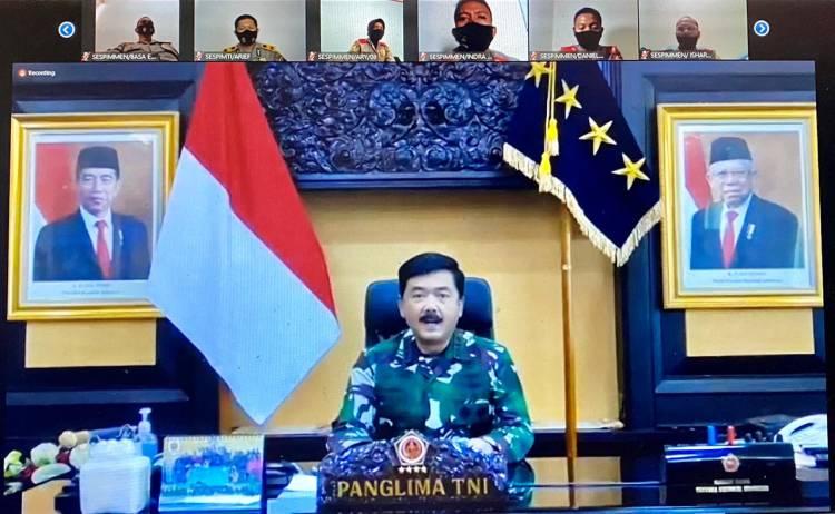 Panglima TNI: Mewujudkan Visi Indonesia Maju Sarat dengan Berbagai Tantangan