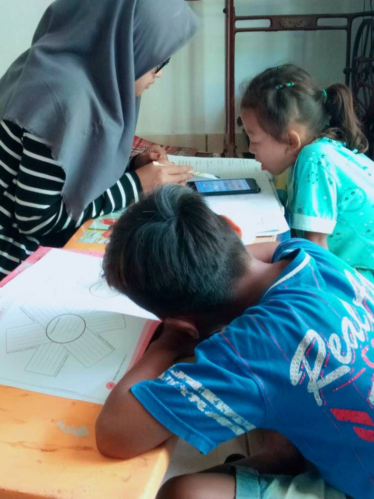 Mahasiswi UIN SUSKA Riau Laksanakan KKN di Simalungun