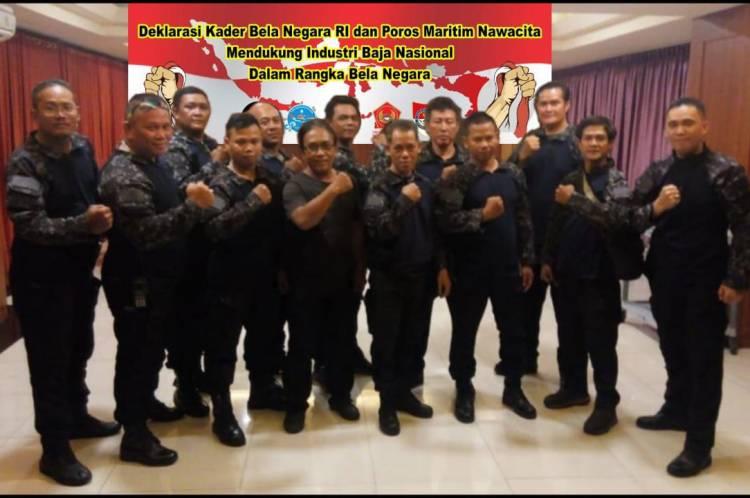 Kader Bela Negara Deklarasikan Dukungan untuk Penguatan Industri Baja Nasional