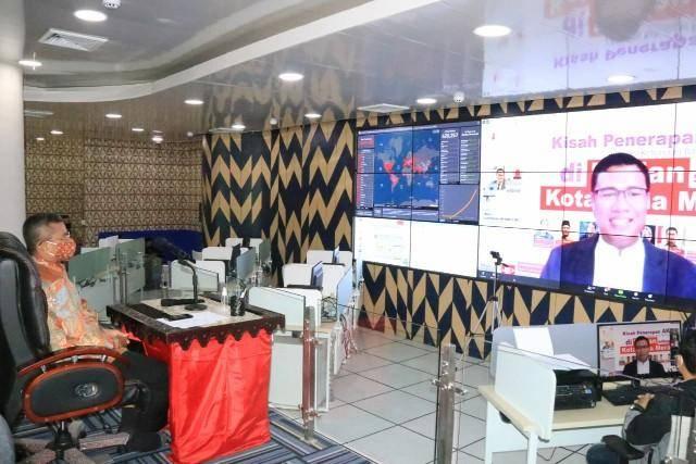 Webinar Penerapan Adaptasi Kebiasaan Baru, Ini Pesan Sekda Kota Medan