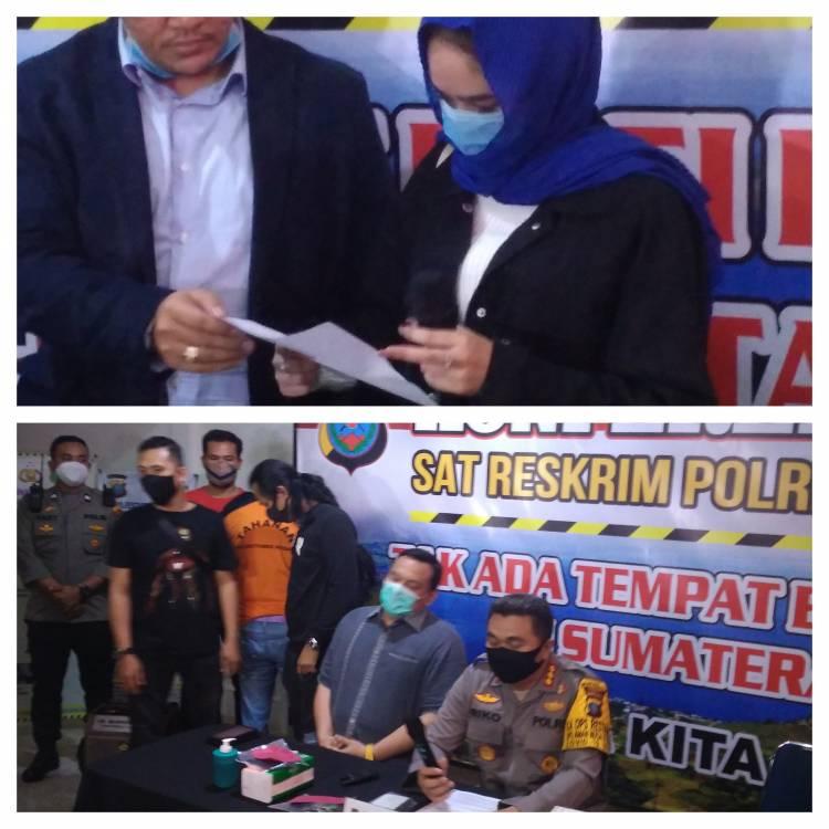 Mucikari Hana Hanifah Jadi Tersangka Prostitusi Artis oleh Polrestabes Medan
