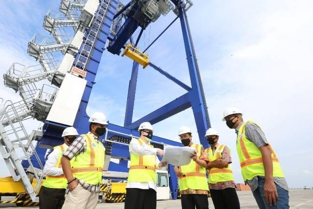 Komisaris Utama Pelindo 1 Sambangi Pelabuhan Kuala Tanjung di Kabupaten Batubara