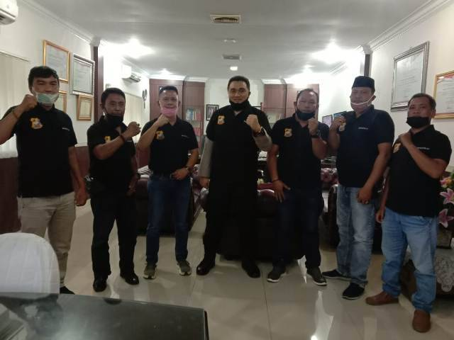 Kombes Riko Sunarko Jalin Komunikasi dengan Wartawan, Sampaikan Pesan Kamtibmas