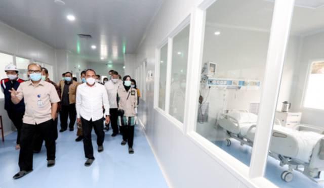 Gubernur Sumut Resmikan 15 Ruang Isolasi Tambahan untuk Pasien Covid-19 di RSUP Adam Malik