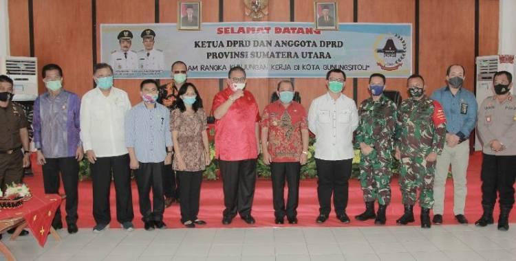 Walikota Gunungsitoli Berharap Ada Bantuan Keuangan dari DPRD Provinsi Sumut
