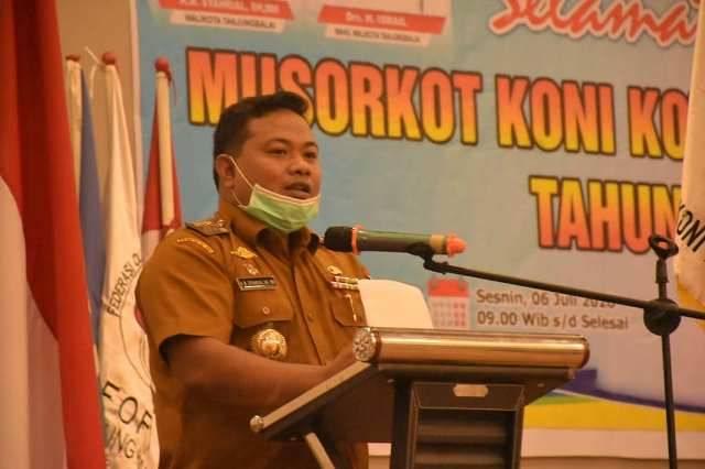 Buka Musorkot, Wali Kota Tanjungbalai Pesan Jaga Kebersamaan dan Prestasi Harus Ditingkatkan