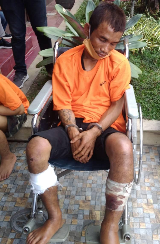 Komplotan Becak Hantu Ditembak Polisi di Perumnas Mandala, Pelaku Residivis yang Sempat Viral