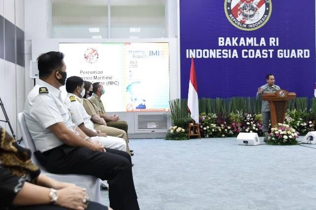 Kepala Bakamla RI Luncurkan Indonesia Maritime Information Centre (IMIC)