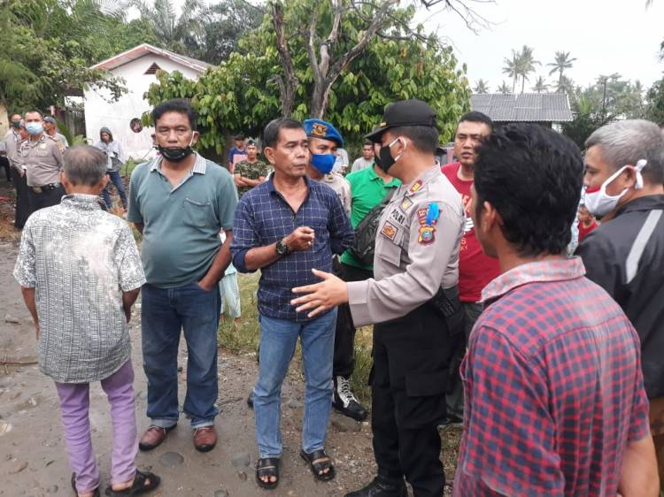 Akses Jalan Ditutup Karena Sengketa Lahan, Polsek Beringin Mediasi Selesaikan Masalah