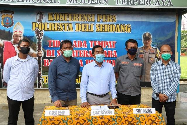 Polresta Deli Serdang Tegaskan Tetap Selesaikan Pengrusakan Hutan dan Penambangan Ilegal