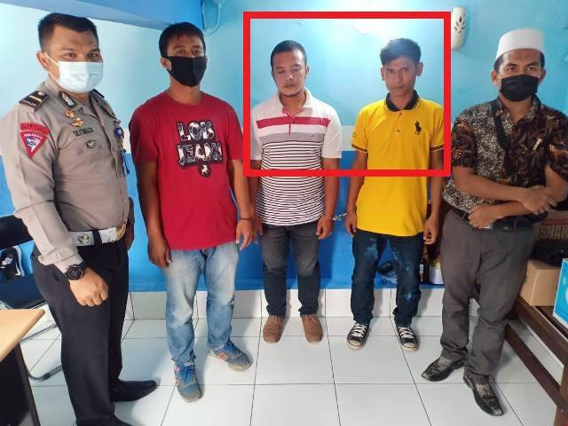 Dua Pria Komplotan Penipuan Pengurusan SIM Ditangkap Satlantas Polrestabes Medan