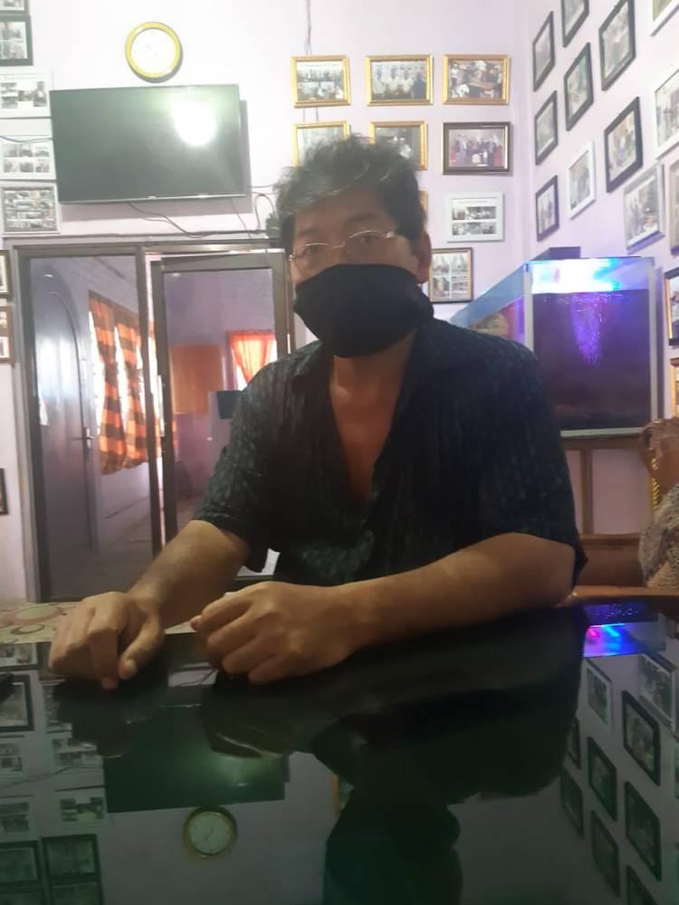 Sugianto Sampaikan Permohonan Maaf kepada Istri Ketua DPRD Medan