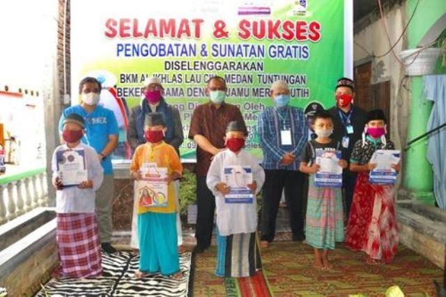 Plt Wali Kota Medan Buka Baksos Pengobatan dan Sunatan Gratis dari BKM Al Ikhlas Medan Tuntungan