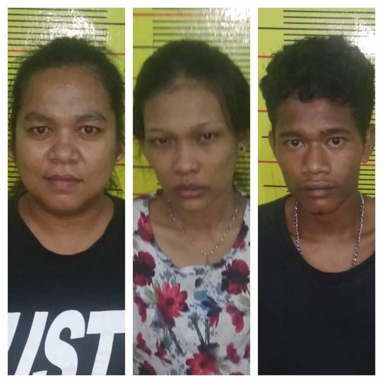 2 Wanita 1 Pria, Komplotan Maling Bongkar Rumah di Jalan Jaya Tani Diringkus Polsek Delitua