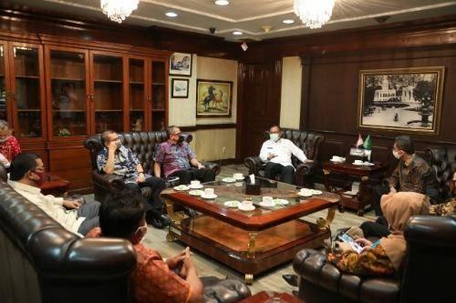 DPRD Dapil Sumut 2 Sambangi Pemko Medan, Akhyar Ucapkan Terima Kasih