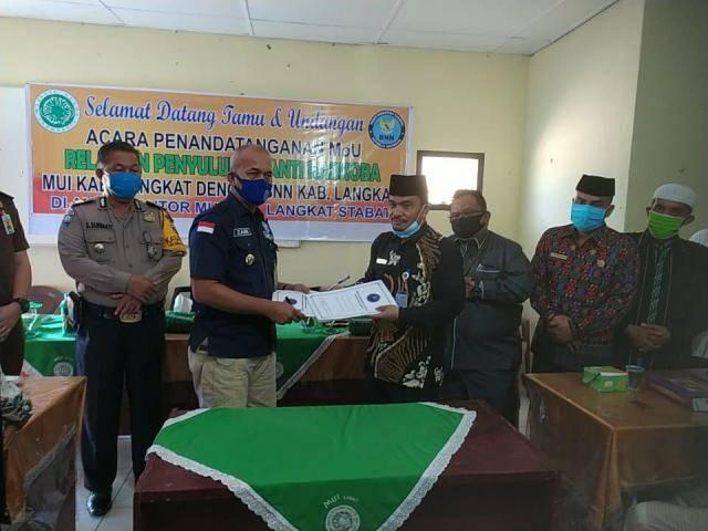 MUI dan BNNK Langkat Bentuk Relawan Anti Narkoba di 23 Kecamatan